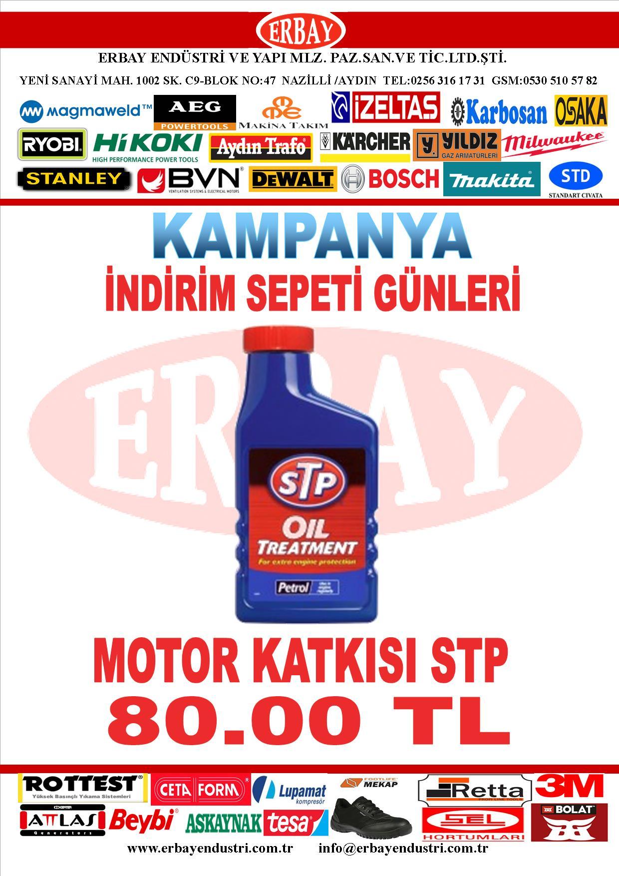 STP Benzinli Motor Yağ Katkısı